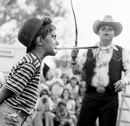 Summer job with a travelling side show (circa 1977)