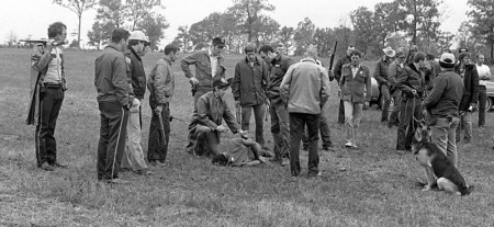 A 3-day manhunt for fugitive Willie Joe Taylor ended with Taylor lying on the ground shot and his shooter kneeling beside him surrounded by a dozen or more lawmen.