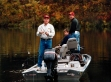 George W. Bush fishing in Missouri before the 2000 election