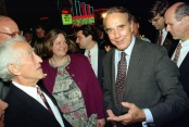 """Sen. Bob Dole says, """"I don't really know what to say."""""""