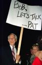 Pat Paulsen asks Sen. Bob Dole to talk